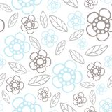 Nahtloses Blumenmuster Dieses ist Datei des Formats EPS10 Gänseblümchen Stockbilder
