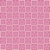 Nahtloses Blumenmuster ENV 10 Lizenzfreie Stockbilder