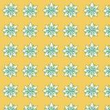 Nahtloses Blumenmuster für Gewebe Lizenzfreie Stockfotografie