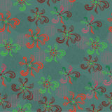 Nahtloses Blumenmuster. Hintergrund Stockbild