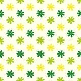 Nahtloses Blumenmuster, Illustration lizenzfreie abbildung