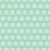 Nahtloses Blumenmuster mit der gezeichneten Hand stilisierte Blumen. Stockbilder