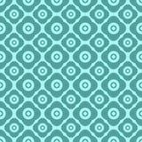 Nahtloses Blumenmuster mit geometrischen stilisierten Blumen. Lizenzfreie Stockfotos