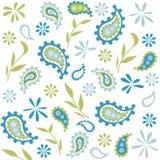 Nahtloses Blumenmuster, Tapete Stockfotos