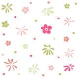 Nahtloses Blumenmuster, Tapete Lizenzfreie Stockfotos