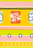 Nahtloses Blumenpattern-03 Lizenzfreies Stockfoto