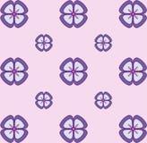 Nahtloses Blumentapeten-Pastellmuster Nahtlose vektorbeschaffenheit Elegante Schablone für Modedrucke ultraviolett Lizenzfreies Stockfoto