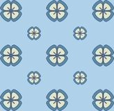 Nahtloses Blumentapeten-Pastellmuster Nahtlose vektorbeschaffenheit Elegante Schablone für Modedrucke ultraviolett Lizenzfreie Abbildung