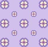 Nahtloses Blumentapeten-Pastellmuster Nahtlose vektorbeschaffenheit Elegante Schablone für Modedrucke ultraviolett Vektor Abbildung