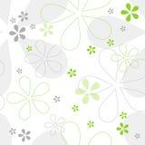 Nahtloses Blumenvektormuster Lizenzfreies Stockbild