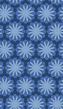 Nahtloses Blumenvektormuster/-hintergrund Stockbilder