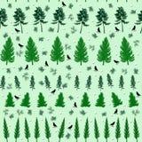 Nahtloses botanisches Muster Stockbilder
