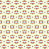 Nahtloses buntes aztekisches Muster Lizenzfreies Stockfoto