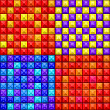 Nahtloses buntes geometrisches Muster Lizenzfreie Stockfotos