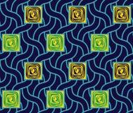 Nahtloses buntes geometrisches Muster lizenzfreie abbildung