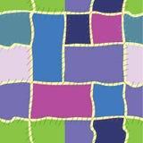 Nahtloses buntes Muster Stockfoto