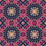 Nahtloses buntes Muster in der marokkanischen Art Lizenzfreie Stockfotografie