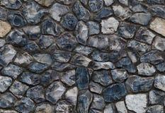 Nahtloses buntes Muster des wilden blauen Steinfeuersteins Abstrakte Beschaffenheit lizenzfreie stockfotografie