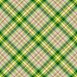 Nahtloses checkered diagonales Muster Stockbilder