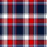 Nahtloses checkered Muster Lizenzfreies Stockbild