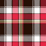 Nahtloses checkered Muster Stockfotografie