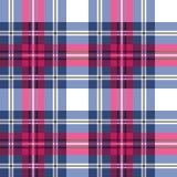 Nahtloses checkered Muster Stockbild