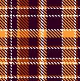 Nahtloses checkered Muster Stockfoto