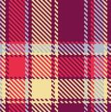 Nahtloses checkered Muster Stockfotos