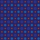 Nahtloses 3d prägte Blumenmusterhintergrund für Tapete, Muster, Netz, Blog, Oberfläche, Beschaffenheiten, Grafik u. Drucken Stockfoto