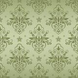Nahtloses Damastmuster für Hintergrund oder Tapetendesign Stockbilder