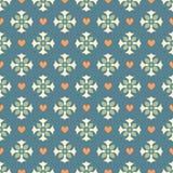 Nahtloses dekoratives Muster Lizenzfreies Stockfoto