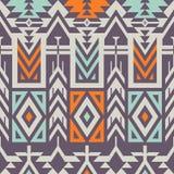 Nahtloses dekoratives Vektor-Muster für Textildesign Stockfotografie