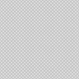 Nahtloses diagonales Maschenmuster von gerundeten Quadraten auf weißem Hintergrund Contrasty Halbtongitterhintergrund Vektor lizenzfreie abbildung