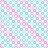 Nahtloses diagonales Mehrfarbenmuster. lizenzfreie abbildung