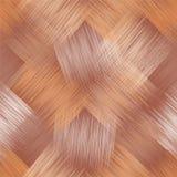 Nahtloses diagonales Muster mit Schmutz streifte quadratische Elemente in den beige, braunen, weißen Farben lizenzfreie abbildung