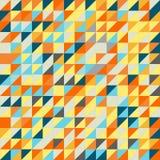 Nahtloses Dreieck-Muster Es kann für Leistung der Planungsarbeit notwendig sein Lizenzfreies Stockbild