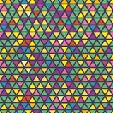 Nahtloses Dreieck-Muster Es kann für Leistung der Planungsarbeit notwendig sein Geometrischer Auszug Lizenzfreies Stockfoto