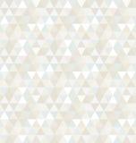Nahtloses Dreieck-Muster, Hintergrund, Beschaffenheit Stockfotografie