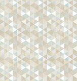 Nahtloses Dreieck-Muster, Hintergrund, Beschaffenheit lizenzfreie abbildung