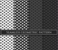 Nahtloses Dreieckvektormuster Abstraktes geometrisches Muster in den mehrfachen Farben Rautenhintergrund Rautenmuster stockfotografie