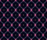 Nahtloses dunkles geometrisches Muster lizenzfreie abbildung
