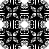 Nahtloses einfarbiges Blumenmuster des Designs Stockbilder