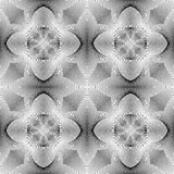Nahtloses einfarbiges Blumenmuster des Designs Lizenzfreie Stockbilder