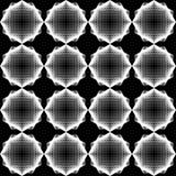 Nahtloses einfarbiges geometrisches Muster des Entwurfs Stockfoto