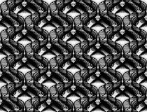 Nahtloses einfarbiges Schachbrettmuster des Designs Lizenzfreies Stockfoto