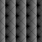 Nahtloses einfarbiges Schachbrettmuster des Designs Lizenzfreies Stockbild