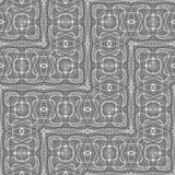 Nahtloses einfarbiges Spitzen- Muster des Designs Lizenzfreie Stockfotografie