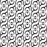 Nahtloses einfarbiges wellenartig bewegendes Muster des Designs stock abbildung