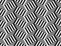 Nahtloses einfarbiges Zickzackmuster des Designs Stockbild