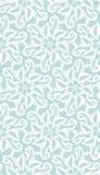 Nahtloses elegantes Muster Blaues Muster Abstraktes Muster Lizenzfreie Stockfotografie